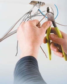 electrician hand